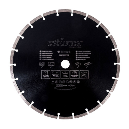 Evolution DM305 Diamond Cutting Blade 305mm - 1