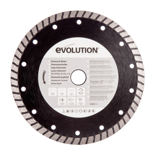 Evolution DB185 Rage Diamond Cutting Blade 185mm - 2