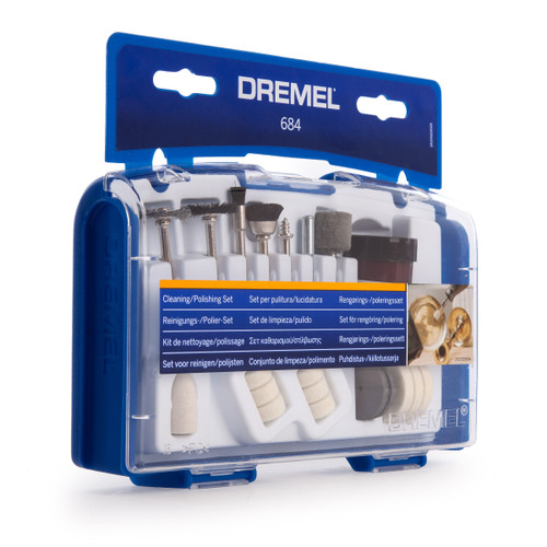 Dremel 684 Cleaning / Polishing Accessory Set (26150684JA) - 1