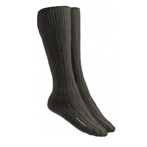 Dickies DCK00049 Merino Socks (Pack of 2 Pairs) - Green/Brown - 1