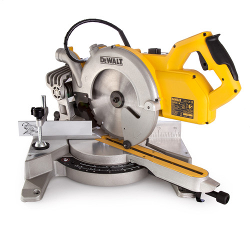 Dewalt DWS778 250mm Compact Slide Mitre Saw 110V