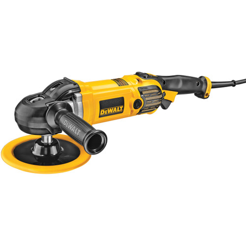Dewalt DWP849X 1250W Premium 150mm/180mm Variable Speed Polisher 110V - 11