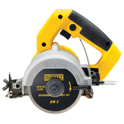 Dewalt DWC410 Hand Held Wet Tile Saw 110mm - 110V - 1