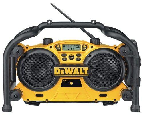 Dewalt DC011 AC/DC Radio Charger 240V - 4