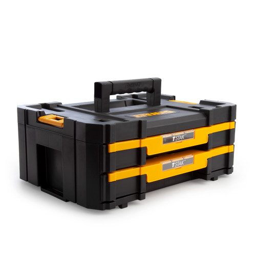 Dewalt DWST1-70706 TStak IV Tool Storage Box with 2 Shallow Drawers - 1
