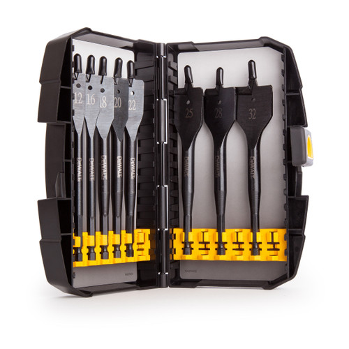 Dewalt DT7943B Extreme Flat Bit Set for Wood 12 - 32mm (8 Piece )