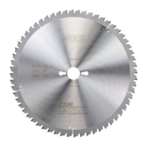Dewalt DT4260 Mitre Saw Blade 305mm x 30mm x 60T - 1