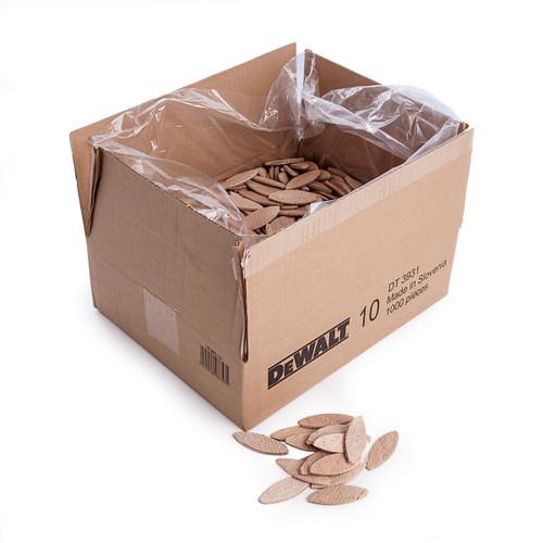 Dewalt DT3931 Size 10 Biscuits (Box of 1000) - 2
