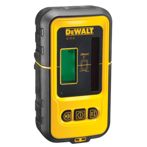 Dewalt DE0892 Digital Laser Detector Red with 50m Range - 1