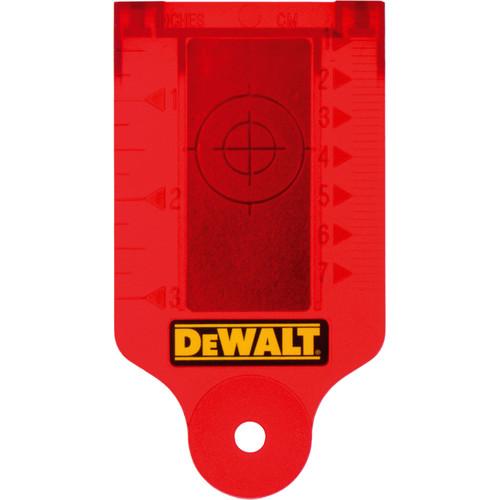 Dewalt DE0730 Laser Target Card for Laser Instruments - 1