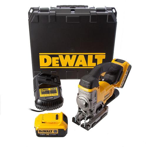 Dewalt DCS331M2-E 18V XR Jigsaw (2 x 4.0Ah Batteries) - 4