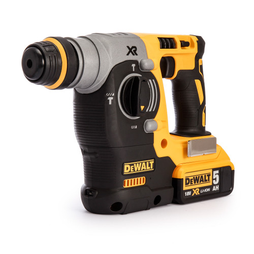 Dewalt DCH273P2 18V XR SDS Plus Rotary Hammer Drill (2 x 5.0AH Batteries) - 8