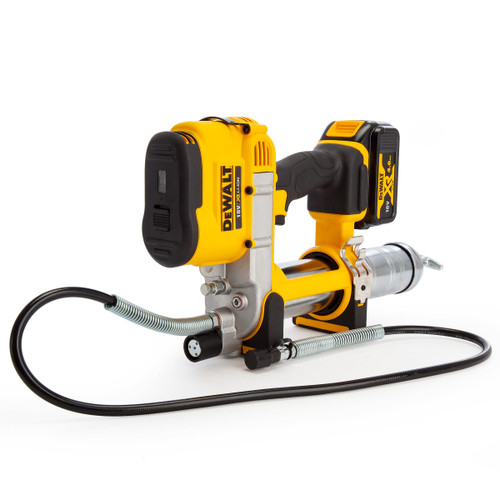 Dewalt DCGG571M1 18V XR Cordless li-ion Grease Gun (1 x 4.0Ah Battery) - 6