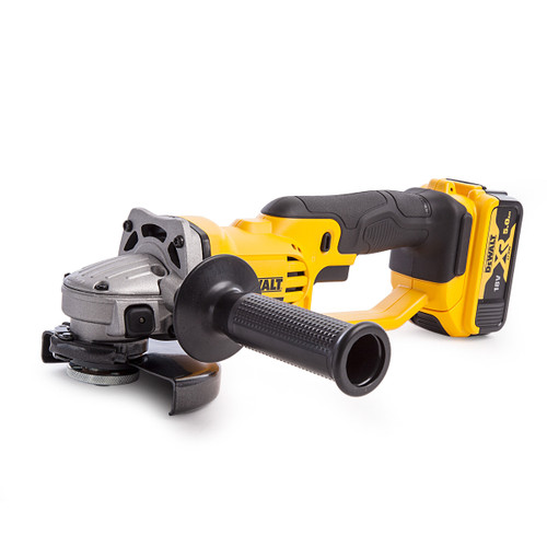 Dewalt DCG412P2 18V Cordless Grinder 125mm (2 x 5Ah Batteries) - 5