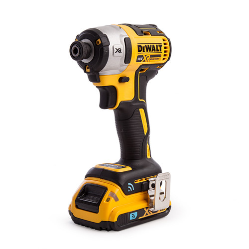 Dewalt DCF888D2B 18V XR Brushless Tool Connect Impact Driver (2 x 2.0Ah Batteries) - 4