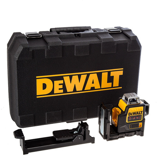 Dewalt DCE089NR 10.8V Red 360 Degree Multi Line Laser (Body Only)  - 5