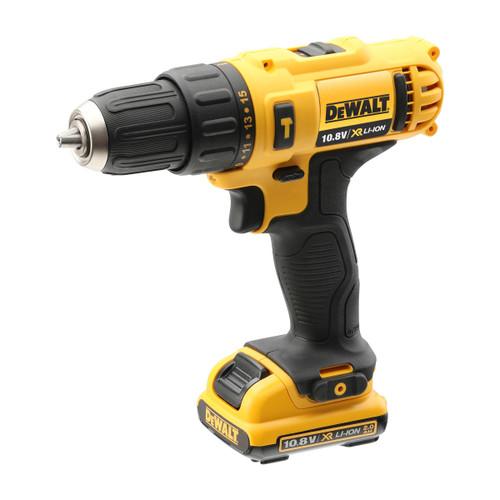 Buy Dewalt DCD716D2 10.8V XR Sub Compact Combi Drill Driver (2 x 2.0Ah Batteries) at Toolstop