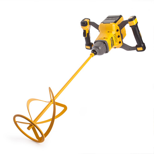 Dewalt DCD240X2 54V XR Flexvolt Brushless Paddle Mixer 160mm (2 x 9.0Ah Batteries) - 6