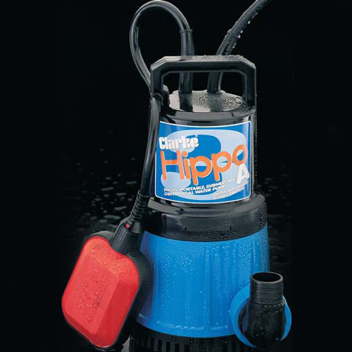 """Buy Clarke Hippo 3A - 1 1/4"""" Submersible Pump (Incl Float Switch) 240V at Toolstop"""