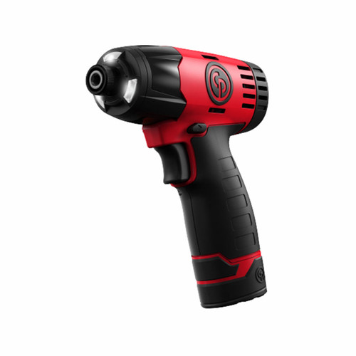 """Chicago Pneumatic CP8818-Pack 12V Cordless Impact Driver 1/4"""" (2 x 1.5Ah Batteries) - 6"""