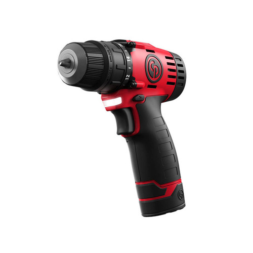 "Chicago Pneumatic CP8528-Pack 12V Drill Driver 3/8"" (2 x 1.5Ah Batteries) - 4"