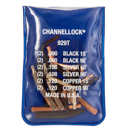 Channellock 929T Universal Retaining Ring Tip Kit  - 1