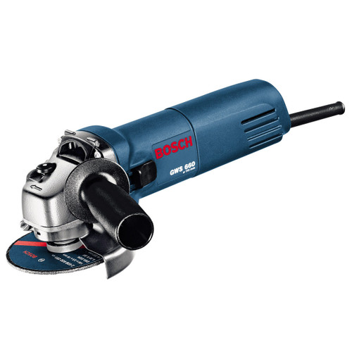 """Buy Bosch GWS660 4 1/2""""/115mm 660w Angle Grinder 110V at Toolstop"""