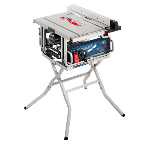 """Bosch GTS10J 10"""" Table Saw with GTA600 Workstand 110V  - 6"""