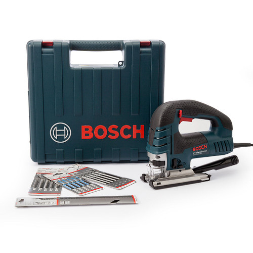 Bosch GST150BCE1BL Bow Handle Jigsaw 780W In Carry Case With 18 x Jigsaw Blades 110V - 7