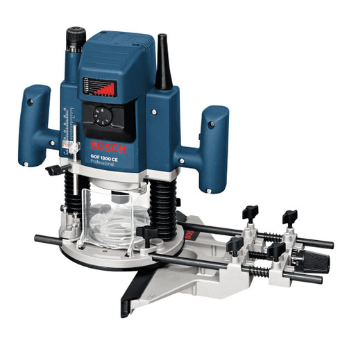 Bosch GOF1300CE Plunge Router 110V 1/4 and 1/2in - 6