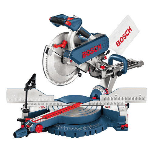 Bosch GCM12SD + GTA3700 + 2607019110 - Mitre Saw 240V + Legstand + Saw Blade Twinpack - 4