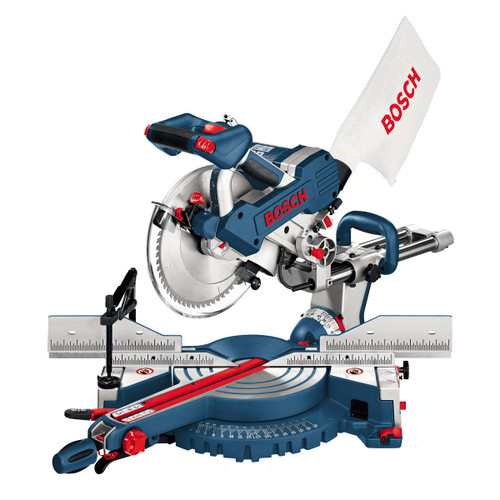 Bosch GCM10SD Double Bevel Slide Mitre Saw 254mm 110V - 5