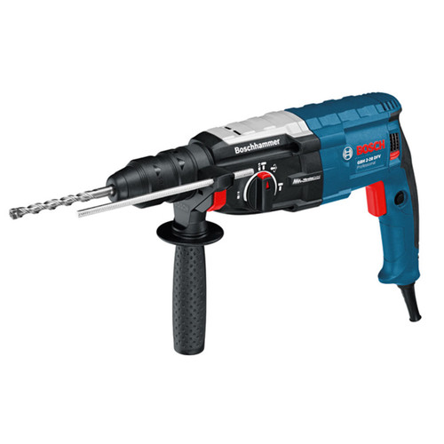 Bosch GBH 2-28 DFV SDS+ Rotary Hammer Drill with Quick Change Chuck 2kg in L-Boxx 110V - 2