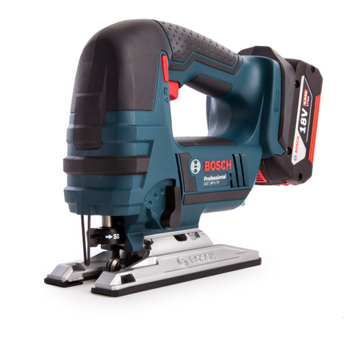 Bosch GST18V-LI B 18V Cordless Jigsaw with Bow Handle (2 x 4.0Ah Battery) - 5