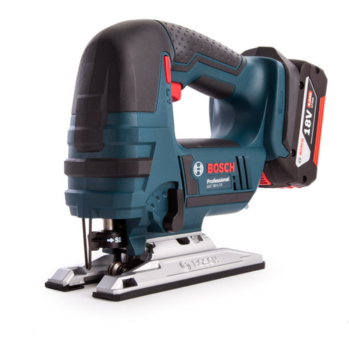 Bosch GST18V-LI B 18V Cordless Jigsaw with Bow Handle (1 x 4.0Ah Battery) - 5