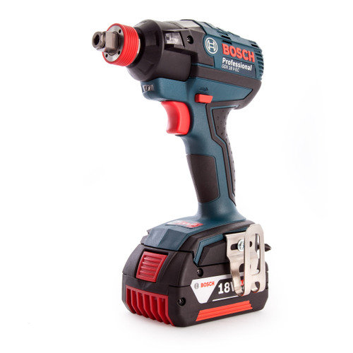 Bosch GDX18 V-EC 18V Cordless Impact Wrench/Driver (2 x 4.0Ah Battery) - 4
