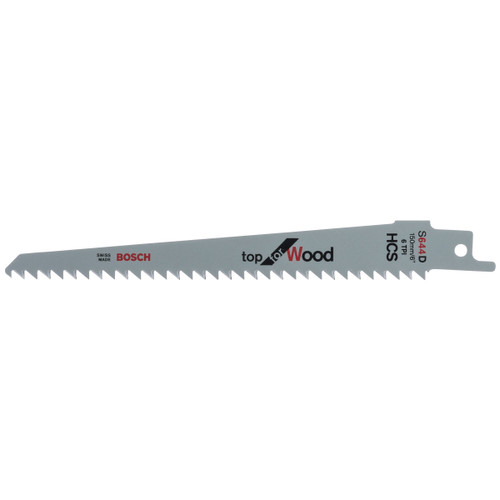 Bosch S644D (2608650673) Reciprocating Saw Blade For Wood 150mm (5 Pack) - 1