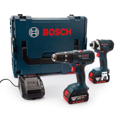 Bosch GSB18-2-Li Plus + GDR 18-Li Light Series in L-Boxx (2 x 4Ah Batteries) - 8