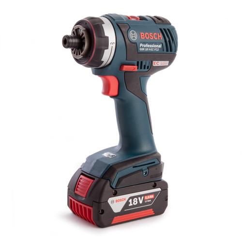 Bosch GSR18VECFC2 Professional Brushless Screwdriver & Accessories (3 x 5.0Ah Batteries) - 4