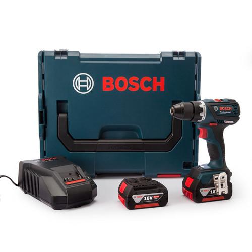 Bosch GSR18VEC 2-Speed Brushless Drill Driver (2 x 4.0Ah Batteries) - 6