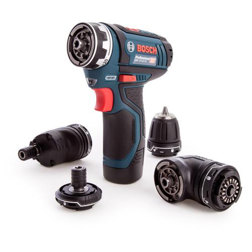 Bosch GSR 12V-15 FC 12V Professional FlexiClick Drill Driver (2 x 2.0Ah Batteries) - 9