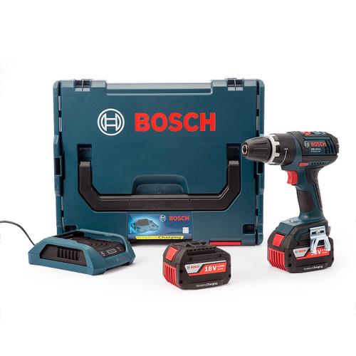 Bosch GSB18VLIW 18V Wireless Charging Dynamic Series Combi Drill (2 x 4.0Ah Batteries) - 4