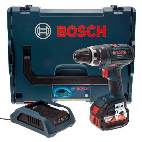 Bosch GSB18VLIDS 18V Wireless Charging Cordless Combi Drill (1 x 4.0Ah Battery) - 4