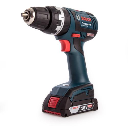 Bosch GSB18VEC 06019D7177 18V Dynamic Series Brushless Combi Drill (2 x 2.0Ah Batteries) - 3