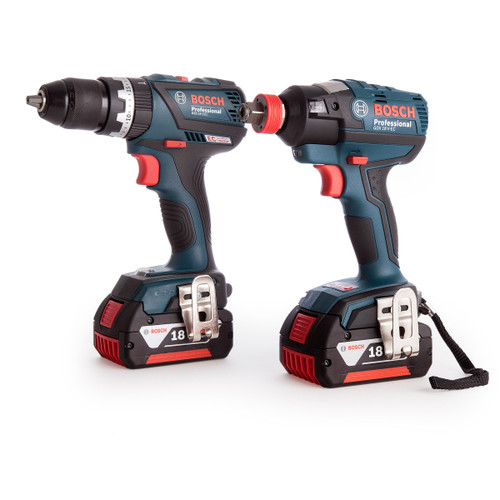 Bosch GSB 18 V-EC + GDX 18 V-EC 18V Cordless Package in L-Boxx (2 x 5.0Ah Batteries) - 6