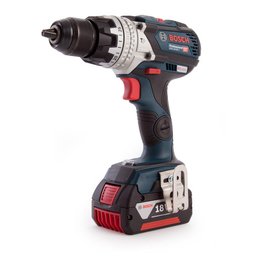 Bosch GSB18V-85 C Connected 18V Heavy Duty Brushless Combi Drill (3 x 5.0Ah Batteries) - 7