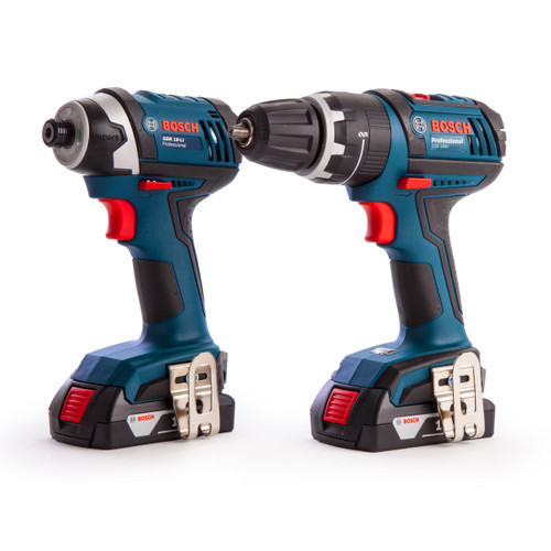 Bosch 0615990GU8 18V Cordless Combi Drill + Impact Driver (3 x 1.5Ah Batteries) in L-Boxx - 3