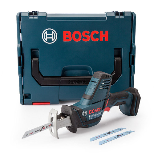Bosch GSA18VLICNCG Compact Sabre Saw (Body Only) with L-BOXX  - 6