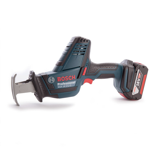 Bosch GSA18VLIC Professional Cordless Sabre Saw (3 x 5.0Ah Batteries)  - 6