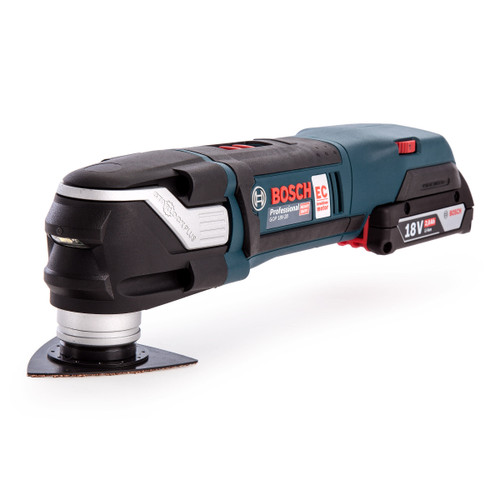 Bosch GOP 18V-28 Brushless Cordless Multi-Cutter Professional Heavy Duty (2 x 2.0Ah Batteries) - 7